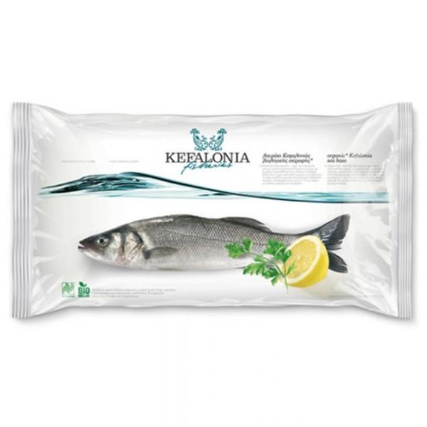 Βιολογικό Λαβράκι Κεφαλονιάς Bio Κατεψυγμένο 400γρ., Ελληνικό, Kefalonia Fisheries