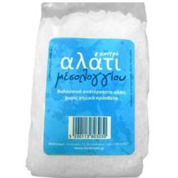 Θαλασσινό Αλάτι Μεσολογγίου Χονδρό 1 κιλό, Ελληνικό, Brand