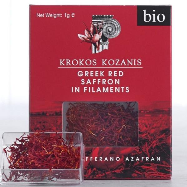Βιολογικός Κρόκος Κοζάνης σε Στίμονες Bio 1γρ., Ελληνικός, Brand