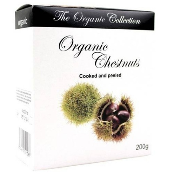 Βιολογικά Κάστανα Μαγειρεμένα Χωρίς Κέλυφος 200γρ., The Organic Collection