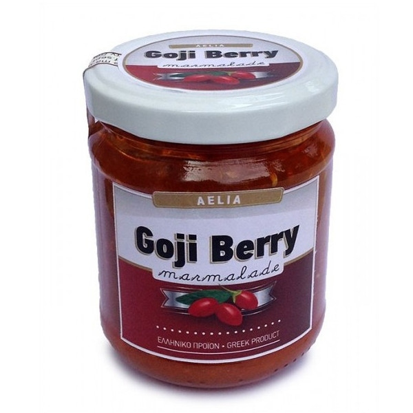 Μαρμελάδα Goji Berry 230γρ., Ελληνική, Aelia