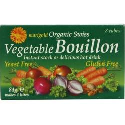 Βιολογικοί Κύβοι Λαχανικών Χωρίς Μαγιά Bio 8 τεμάχια, Marigold