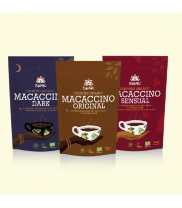 Βιολογικό Macaccino Sensuel Υποκατάστατο Καφέ 150γρ., Iswari