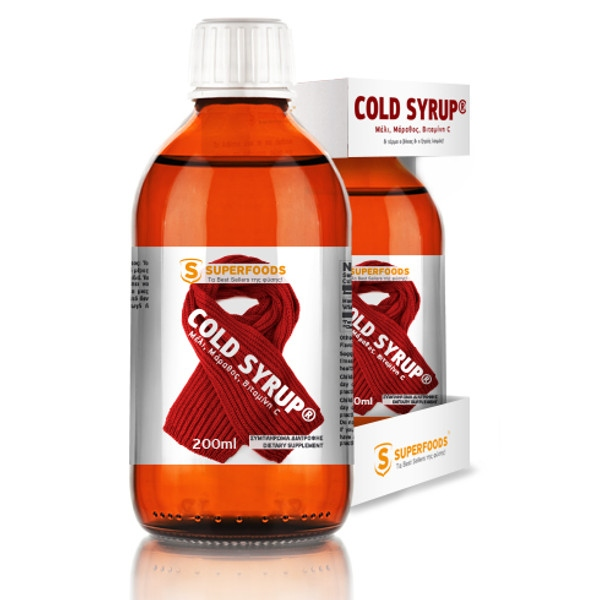 Cold Syrup 200ml, Superfoods