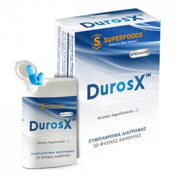 DurosX 20caps, Superfoods
