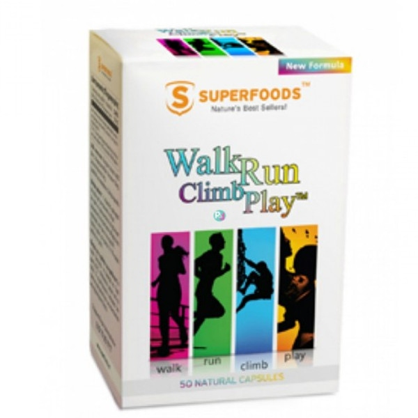 Walk, Run, Climb, Play 50 κάψουλες, Superfoods