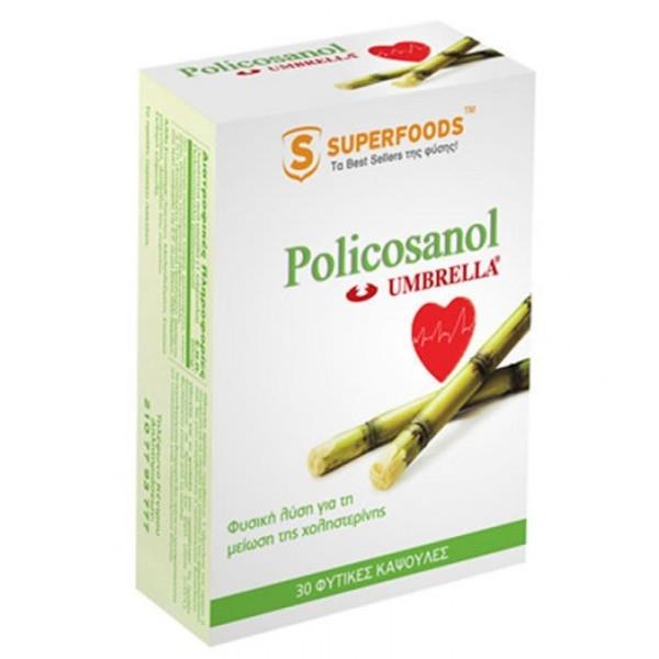 Policosanol Umbrella 30caps, Superfoods