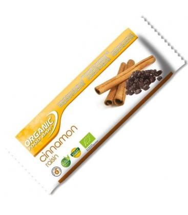 Βιολογική Μπάρα Ενέργειας με Κανέλα & Σταφίδα 50γρ. Bio, Organicfoods
