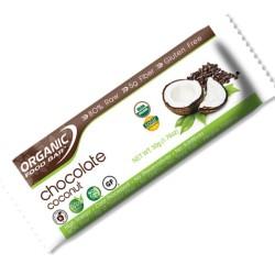 Βιολογική Μπάρα Ενέργειας Σοκολάτα & Καρύδα 50γρ. Bio, Organicfoods