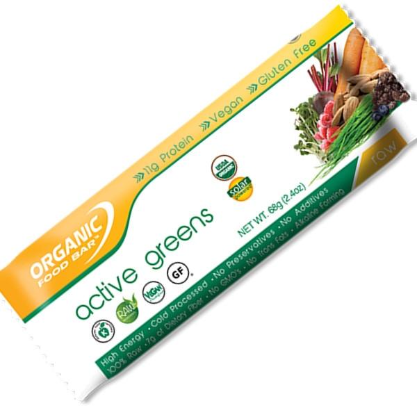 Βιολογική Μπάρα Ενέργειας Bio 70γρ., Active Greens