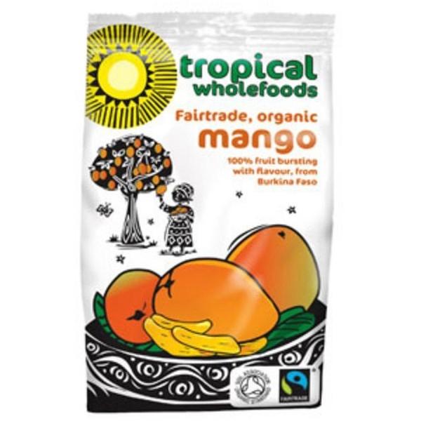 Βιολογικό Μάγκο Φέτες Αποξηραμένες Bio 100γρ., Tropical Wholefoods
