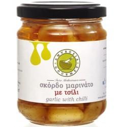 Σκόρδο Σκελίδα με Τσίλι 170γρ., Ελληνικό, Amvrosia Gourmet