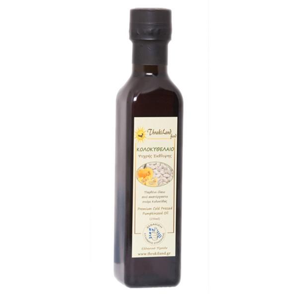 Κολοκυθέλαιο Ψυχρής Έκθλιψης 500ml, Thrakiland Food