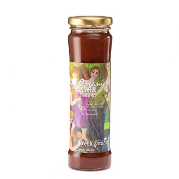 Βιολογικός Πολτός Δαμάσκηνο & Μέλι Bio 225γρ., Ελληνικός, Κτήμα Μανουσάκη
