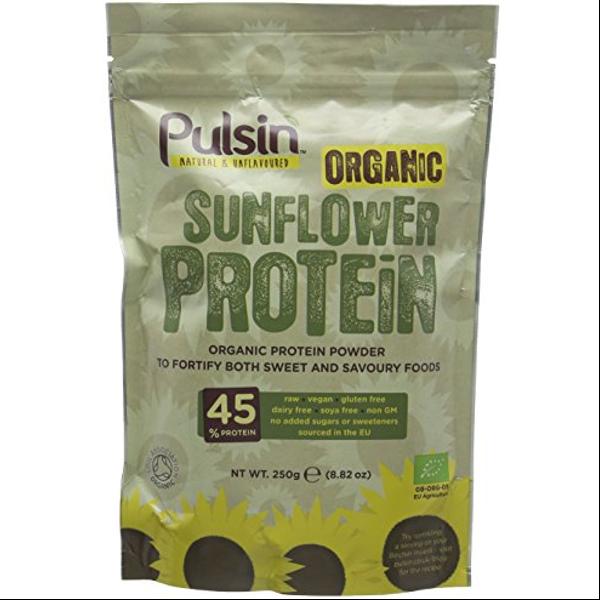 Βιολογική Πρωτεΐνη Ηλίανθου Bio 250γρ., Pulsin