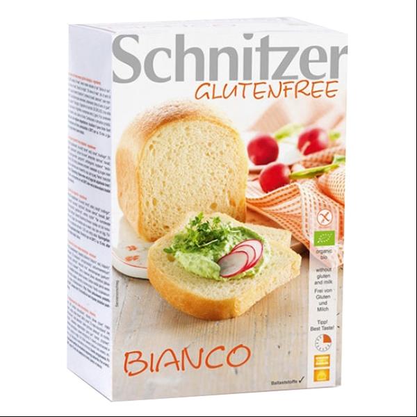Βιολογικό Ψωμί Λευκό Bio Χωρίς Γλουτένη 450γρ., Schnitzer