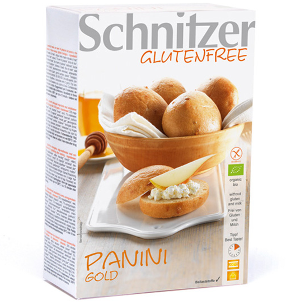 Βιολογικά Ψωμάκια Golden Bio Χωρίς Γλουτένη 250γρ., Schnitzer