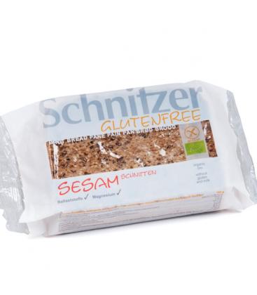 Βιολογικό Ψωμί από Σουσάμι Χωρίς Γλουτένη 250γρ. Bio, Schnitzer