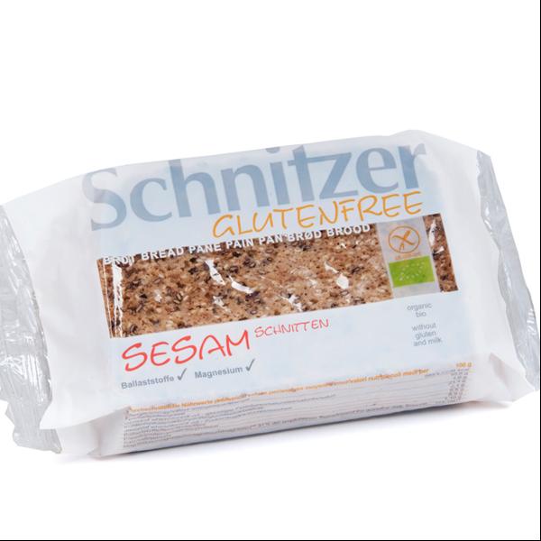 Βιολογικό Ψωμί με Σουσάμι Χωρίς Γλουτένη 250γρ. Bio, Schnitzer