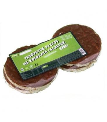 Βιολογική Γκοφρέτα Ρυζιού με Σοκολάτα Γάλακτος Bio, Ελληνική, Organic 3s