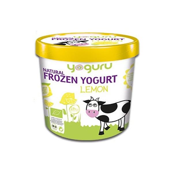 Βιολογικό Παγωμένο Γιαούρτι Λεμόνι Bio 200ml, Yoguru