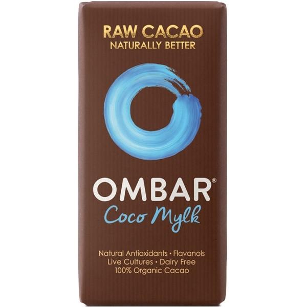 Βιολογική Σοκολάτα Ωμοφαγική με Κρέμα Καρύδα 38γρ. Bio, Ombar