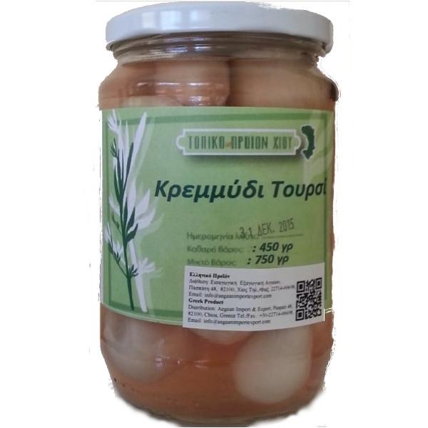 Τουρσί Κρεμμύδι Χίου 450γρ., Προϊόντα Χίου