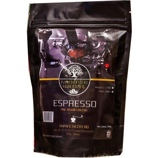 Καφές E, Ελληνικός, Κουγιούλη Προϊόντα Χίου