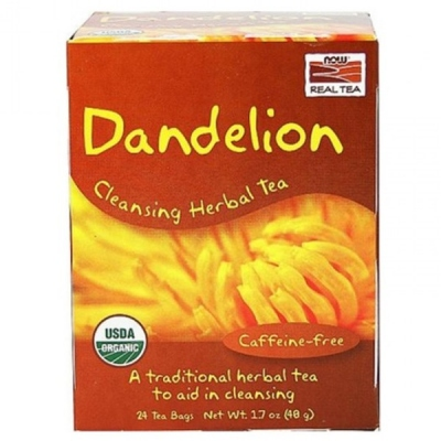 Dandelion Πικραλίδα Organic - 24 Tea Bags, Now Real Tea