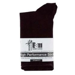 Kάλτσες Μπαμπού Μαύρες No8-11, Bam Bamboo Clothing