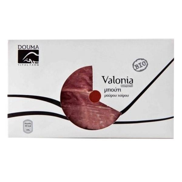 Βιολογικό Μπούτι Καπνιστό Μαύρου Χοίρου Valonia Bio 150-200γρ., Ελληνικό, Douma Vital Farm