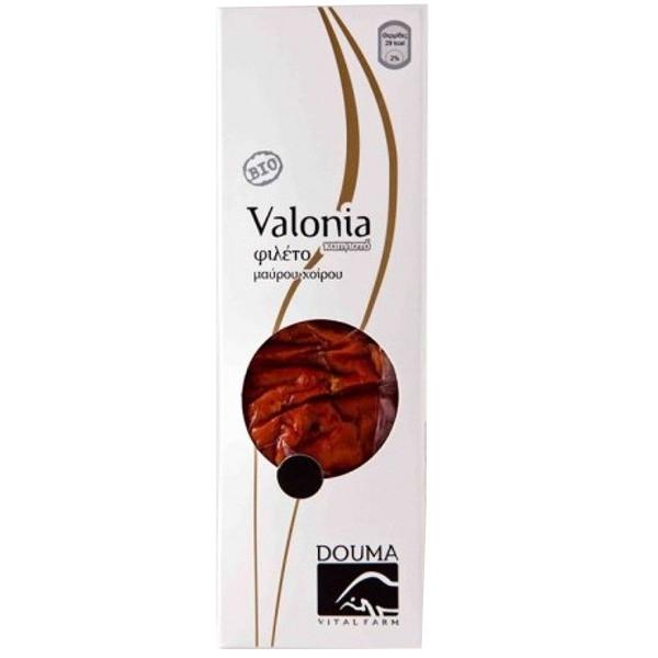 Βιολογικό Φιλέτο Καπνιστό Μαύρου Χοίρου Valonia Bio 150-200γρ., Ελληνικό, Douma Vital Farm