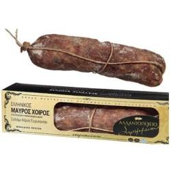 Σαλάμι Αέρος Μαύρος Χοίρος 100γρ., Ελληνικό, Αλλαντοποιείο Στρεμμένου