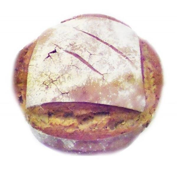 Βιολογικό Ψωμί Λευκό με Προζύμι Bio 500γρ., Ελληνικό, O Φούρνος της Λίνας
