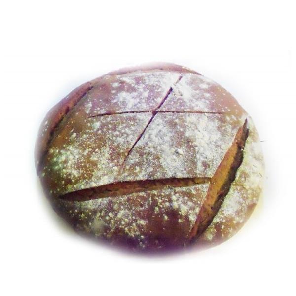 Βιολογικό Ψωμί Μαύρο με Προζύμι Bio 500γρ., Ελληνικό, O Φούρνος της Λίνας