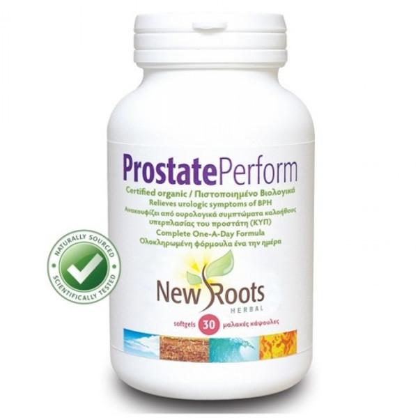 Βιολογικό Prostate Perform 15 softgels, New Roots