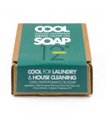 Φυσικό Σαπούνι Νο12 με Αιθέρια Έλαια Λεμονιού & Κέδρου, Ελληνικό, Cool Natural Greek Soap