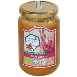 Βιολογικό Μέλι Ερείκης 450γρ Bio Φασιλής