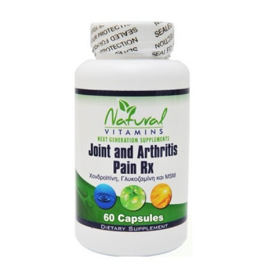 Joint And Arthritis Pain Rx 60 Caps Natural Vitamins