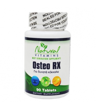 Osteo Rx-90 Tabs Natural Vitamins