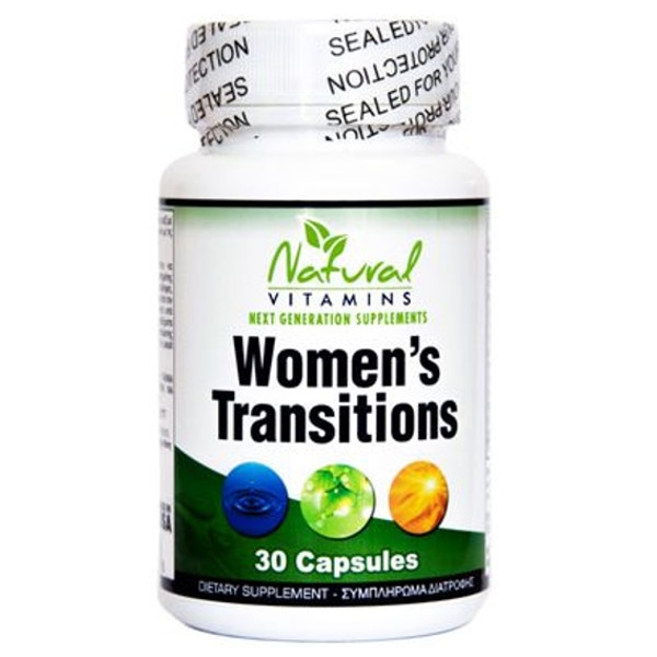Womens Transitions 30 Tabs Natural Vitamins