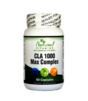 CLA 1000mg with Fish Oil 60 Caps Natural Vitamins