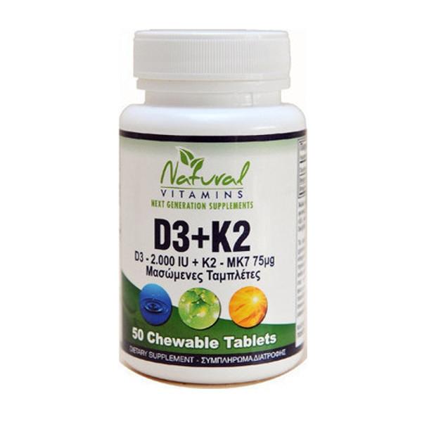 D3-K2 - 50 TABS
