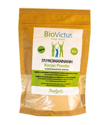 Βιολογική Σκόνη Γλυκομαννάνης (Konjac) 100γρ Bio Super Τροφές