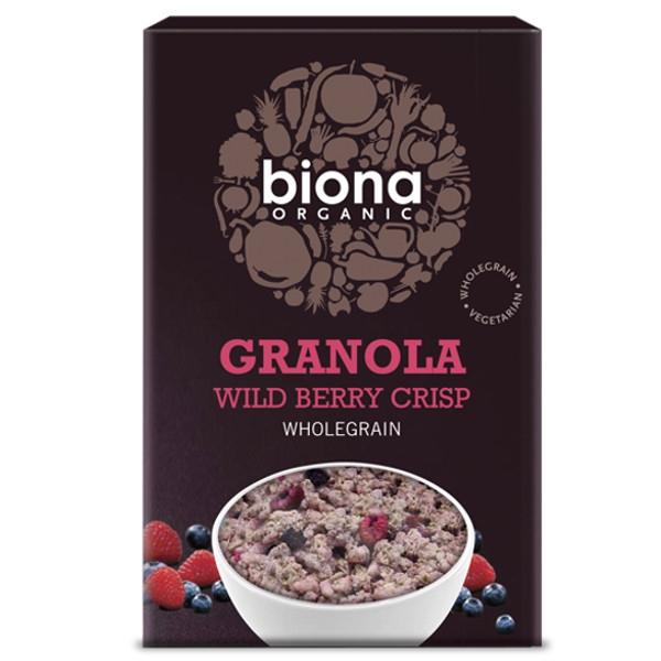 Βιολογική Γκρανόλα Wild Berry Crisp Bio 375γρ Biona