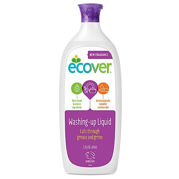 Υγρό Πιάτων Lily & Lotus 1 λίτρο Ecover