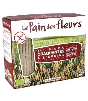 Τραγανά Κράκερ Βρώμης Βιολογικά 150γρ Bio Le Pain De Fleurs