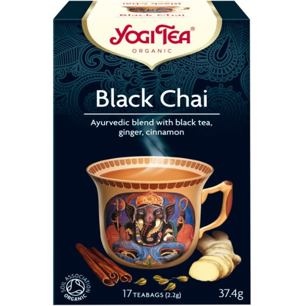 Βιολογικό Μαύρο Τσάι 30γρ Yogi Tea
