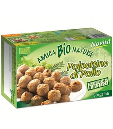 λογικά Κεφτεδάκια από Κοτόπουλο 300γρ Bio Amica Natura