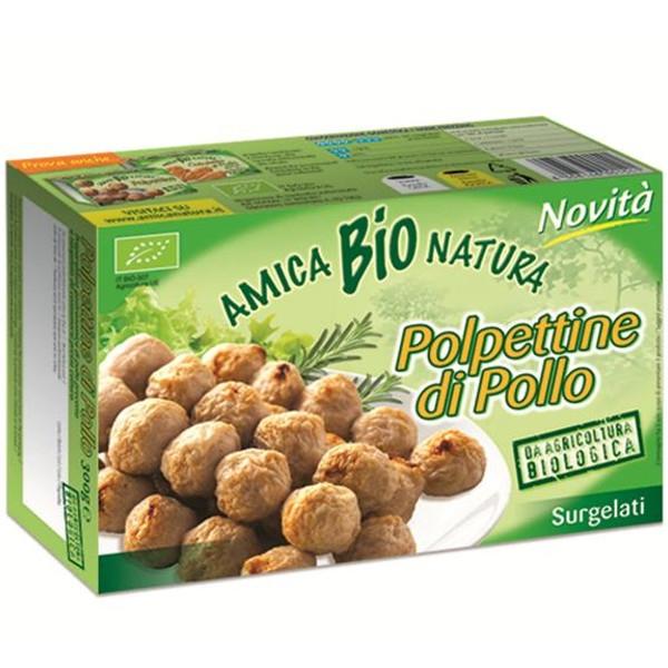 Βιολογικά Κεφτεδάκια από Κοτόπουλο 300γρ Bio Amica Natura